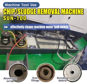 Ajax Coolant Tank Chip & Sludge Remover