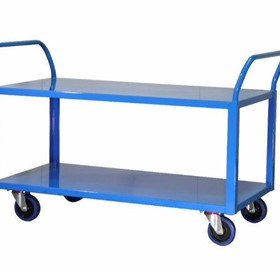 Sitequip Heavy Duty 2 Tier Trolley
