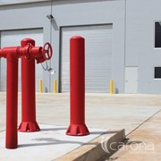 Safety Bollards for Impact Protection