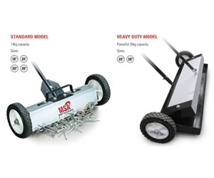 MSA Magnetic Floor Sweeper