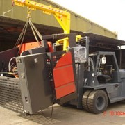 Machinery Forklifts for Hire with Operator