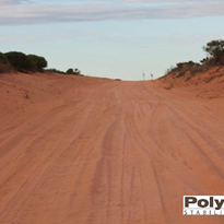 Collapsible soil road in WA receives PolyCom treatment