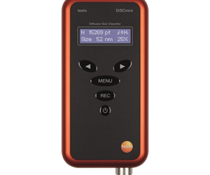 The testo DiSCmini is ideal for nanoparticle testing in coal mining.