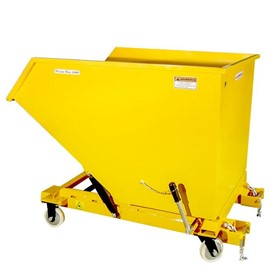 Waste Bin 1000 PC with reinforced bottom.