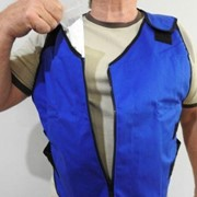 Cooling Vest with Feather Ice Cooling inserts