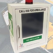 Alarmed Cabinet for Defibrillators