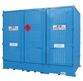 Dangerous Goods Storage | Outdoor Relocatable | 12,000L Bulkibox