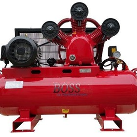 BOSS - 43CFM/ 10HP Air Compressor - BC43-160L