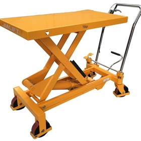 750KG Single Scissor Table Lifter/Trolley Max table height 990mm