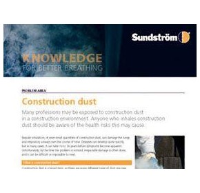 Construction, demolition and remediation dust: risks and solutions