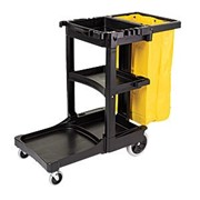 Industrial Trolleys | Janitor Cart | Housekeeping Cart | Rubbermaid
