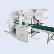 Horizontal Stretch Wrapping Machine | TCST Total Close Fully Automatic