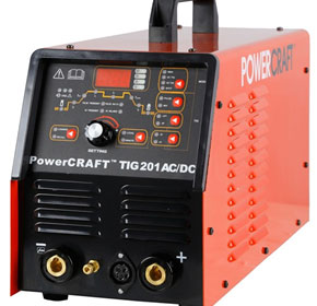 TIG Welder | PowerCRAFT™ 201 ACDC