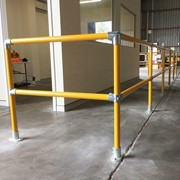 High Visibility Pedestrian Barriers and Safety Rails