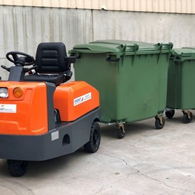 Heavy Duty Sit-on Battery Electric Tow Tugs