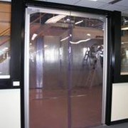 PVC panels for swing doors