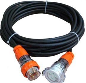 32 Amp 4 Pin Heavy Industrial Extension Lead Electrical Cable