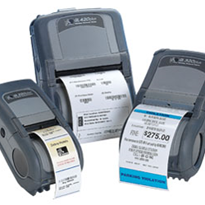 Zebra's new QL Plus series of portable barcode printers now available from Peacock Bros.
