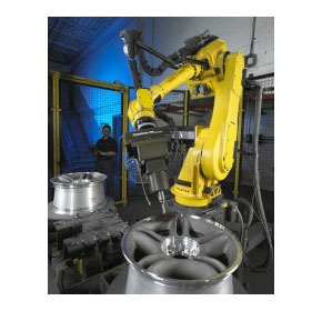Automating the finishing processes of manufactured parts