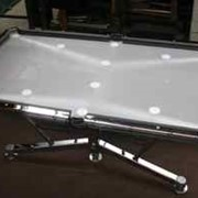 Chrome plating incorporated into pool table design