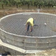 Concrete tank and roof slab for Sydney's Cecil Park