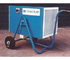 Mobile Fanquip electric heater.