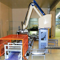 Palletising machine commissioned for CSD Grains