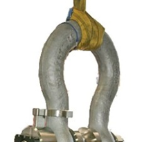 Load Cell Shackle Eliminates Lifting Damage.