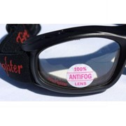 Slim Line Fire Fighter Anti-Fog Safety Goggles