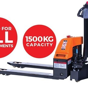 Logimove 1500 Powered Pallet Truck