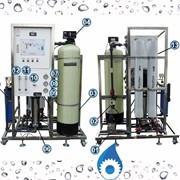 Complete Reverse Osmosis (RO) Desalination System