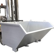 Forklift Tipping Bin Attachment – DHE-SDB18