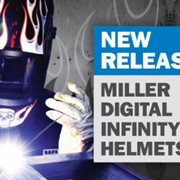 New Miller Digital Infinity Helmets - Available now!