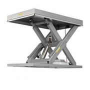 Sitecraft Stainless Steel Scissor Lift Tables
