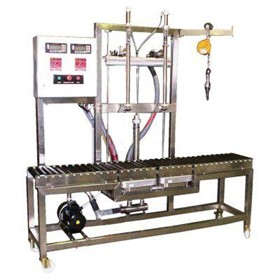Twin Head Liquid Filling Machine