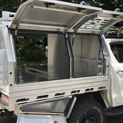 MITS Alloy Canopies | 2 Door with (Dog Box)