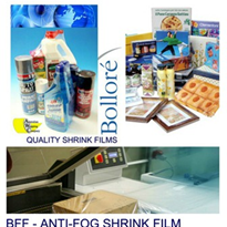 Polyolefin Anti-Fog Shrink Film - Bollore BFF