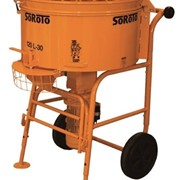 SoRoTo 120 Litre Pan Mixer | Cement & Mortar Mixers