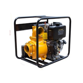 "Thornado 4"" Transfer Pump 10HP Diesel Key Start"