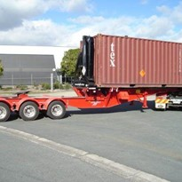 Swinglift Side Loader Container | B DOUBLES HC4020-BD