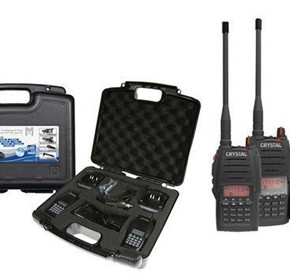 Rechargeable Handheld UHF CB Radio | Crystal Twin Pack 5W