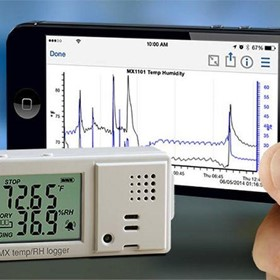 MX Temperature/relative Humidity Data Logger - MX1101