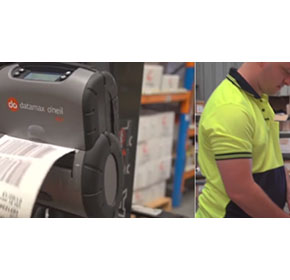 Increase time and work efficiency with label printer mobility
