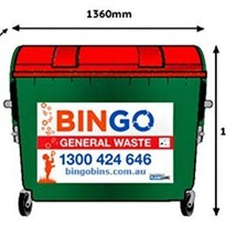 Bingo 1100L Rear Lift Bins