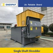 Commercial Fish Net Single Shaft Shredder Manufacturer (MSA-F800)