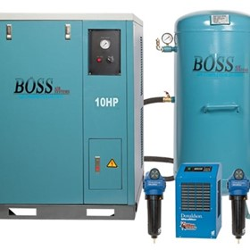 BOSS - 48CFM Silent Compressor Clean Air Package - BQT50PK