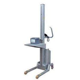 Stainless Steel Electric Lifter With Platform Attachment