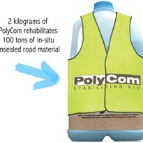 How to Use PolyCom Stabilising Aid for Micro Patching Failed Road Sections.