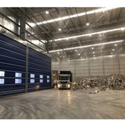 Large Fold up Industrial Roller Doors