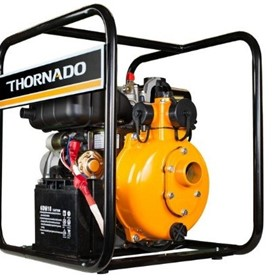 "Thornado 2"" Fire Fighting Diesel Pump Twin Impeller 7HP Key Start"